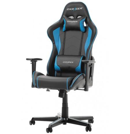 DXRACER FORMULA SERIES F08-NB zils ergonomisks krēsls