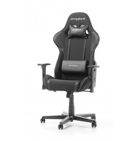 DXRACER FORMULA SERIES F11-N melns ergonomisks krēsls (materiāls+PU)
