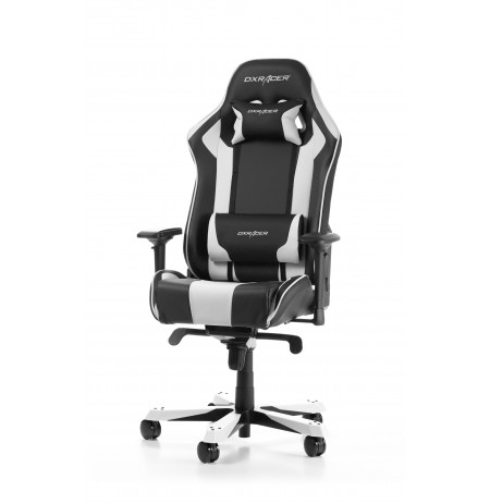 DXRACER KING SERIES K06-NW balts ergonomisks krēsls