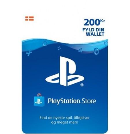 Playstation Network Card 200 DKK (Dānija)