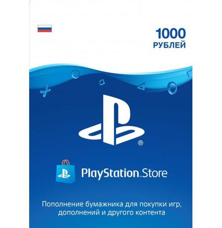 Playstation Network Card 1000 RUB (Krievija)