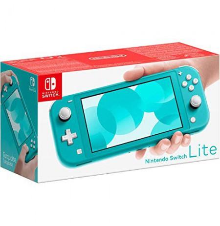 Nintendo Switch Lite (zaļi zilgana)
