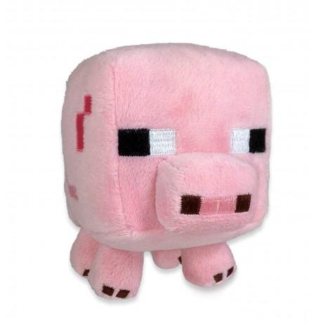 Plīša rotaļlieta Minecraft Baby Pig | 17 cm