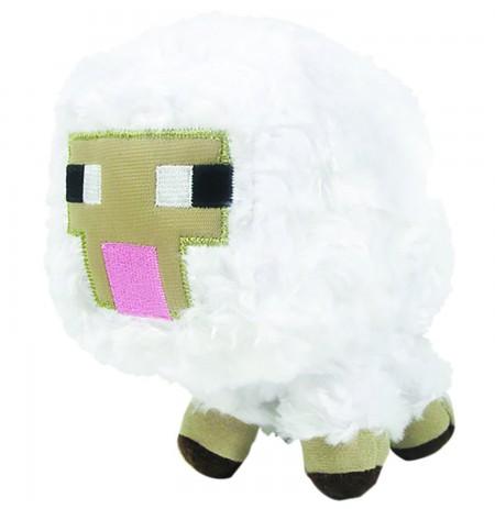 Plīša rotaļlieta Minecraft Baby Sheep | 12-17 cm