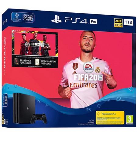 Spēļu konsole SONY PlayStation 4 (PS4) PRO 1TB (melna) + FIFA