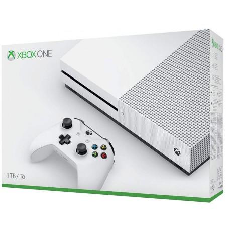 Xbox One S 1TB Balta spēļu konsole