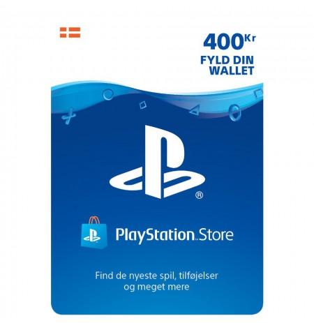 Playstation Network Card 400 DKK (Dānija)