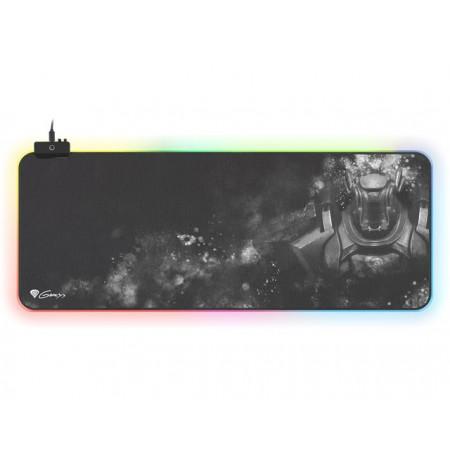 GENESIS BORON 500 XXL RGB ar apgaismojumu peles paliktnis | 800x300x4mm