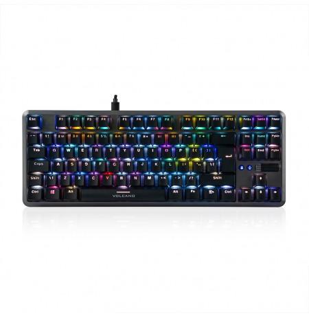 MODECOM VOLCANO LANPARTY V2 RGB spēļu klaviatūra BLUE US