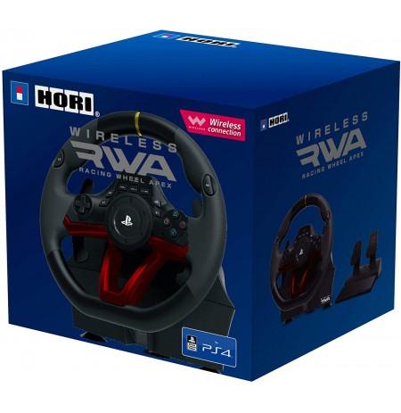 HORI RWA Racing Wheel Apex bezvadu stūre Licensed by Sony   PS4/PC