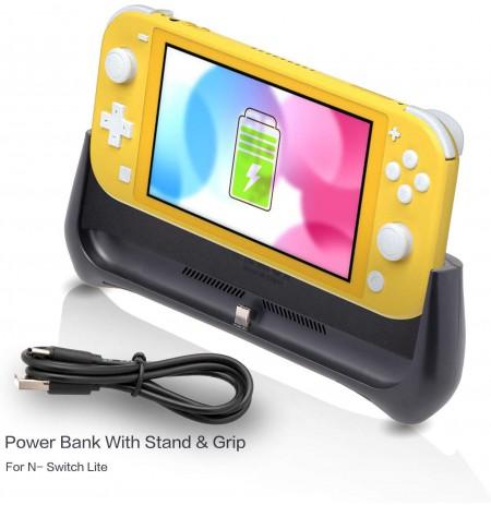 Nintendo Switch Lite aizsargājošs ietvars ar integrētu 8000mah