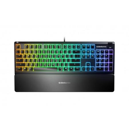 Steelseries Apex 3 membrānas RGB klaviatūra (US)