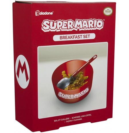 Nintendo Super Mario brokastu trauku komplekts