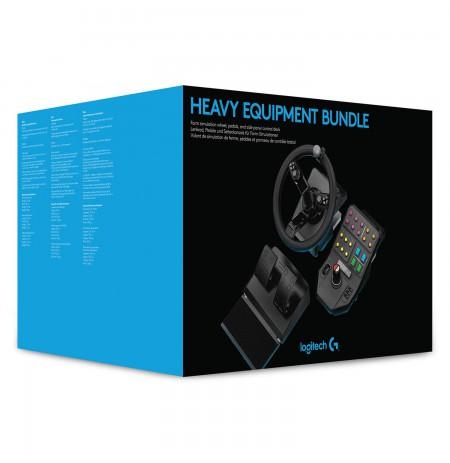 Logitech HEAVY EQUIPMENT BUNDLE stūre (PS4/PC)