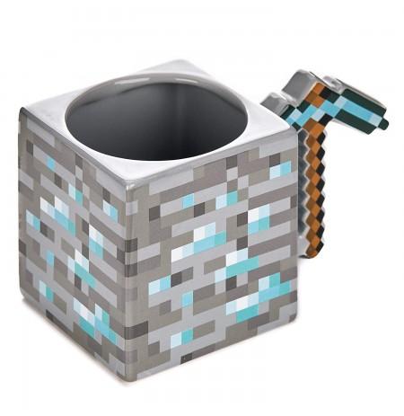 Minecraft Pickaxe 3D krūze