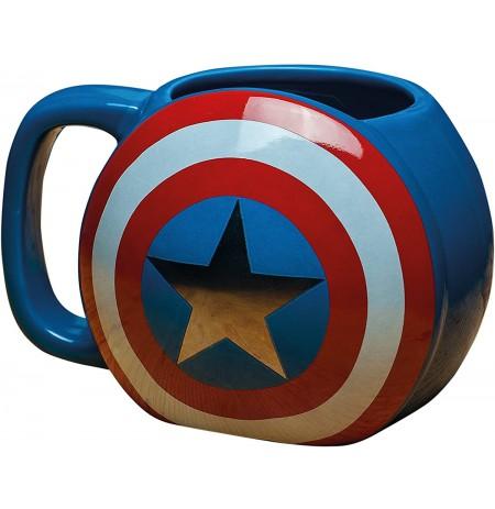 Captain America Shield 3D krūze