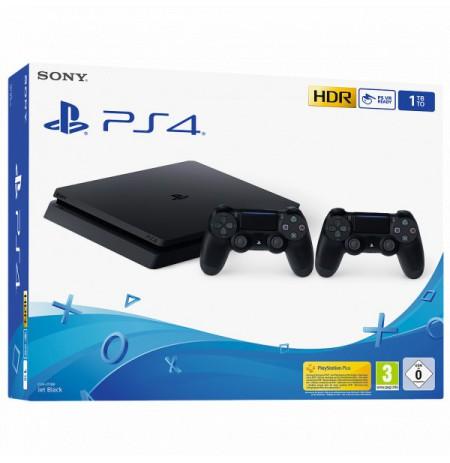 Spēļu konsole SONY PlayStation 4 (PS4) Slim 1TB - Dualshock