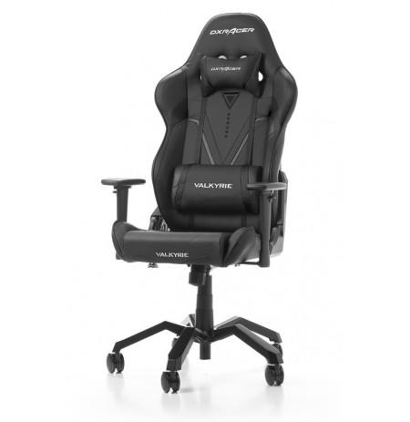 DXRACER VALKYRIE SERIES V03-N melns ergonomisks krēsls