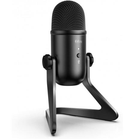 FIFINE K678 mikrofons ar vadu | USB