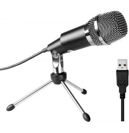 FIFINE K668 mikrofons ar vadu | USB