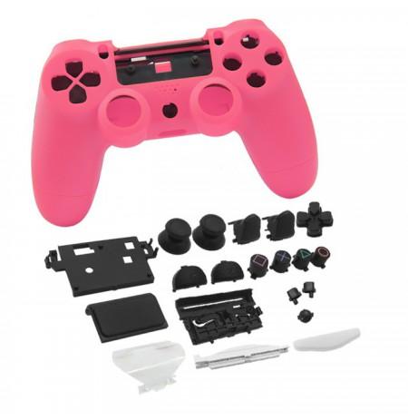 Dualshock 4 kontroliera korpuss un pogas (rozā)