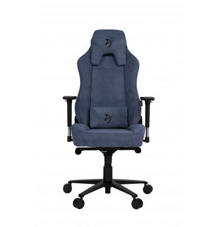 Arozzi VERNAZZA SOFT FABRIC zils ergonomisks krēsls