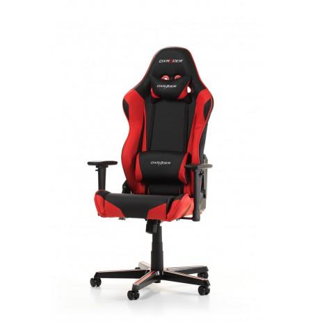 DXRACER RACING SERIES R0-NR sarkans ergonomisks krēsls