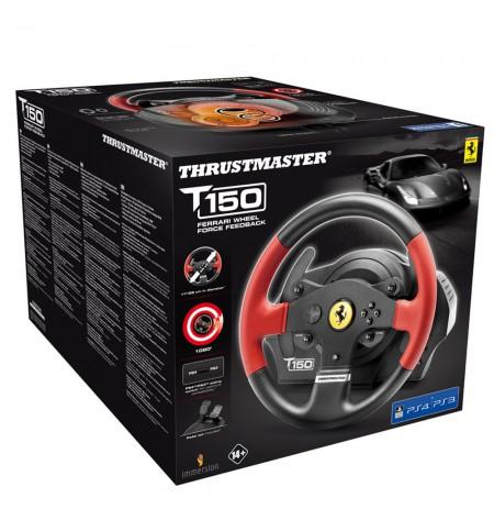 Thrustmaster T150 Ferrari edition stūre (PS3/PS4/PC)