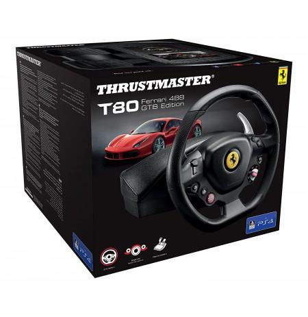 Thrustmaster T80 Ferrari 488 GTB Edition stūre (PS3/PS4)