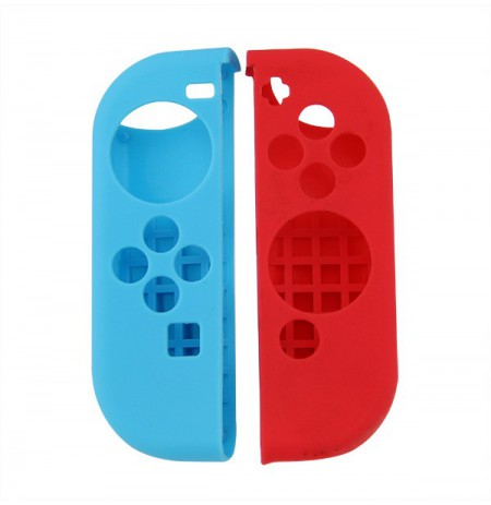 Nintendo Switch Joy-Con silikona aizsargs (sarkans + zils)