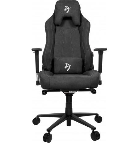 Arozzi VERNAZZA SOFT FABRIC tumši pelēks ergonomisks krēsls