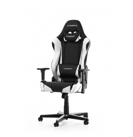 DXRACER RACING SERIES R0-NW balts ergonomisks krēsls