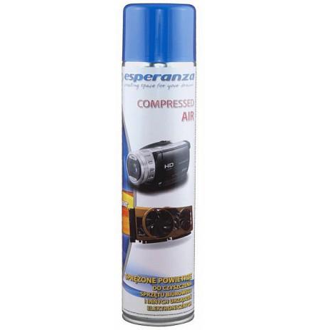 Saspiests gaiss iekārtu tīrīšanai Esperanza ES118 600 ml