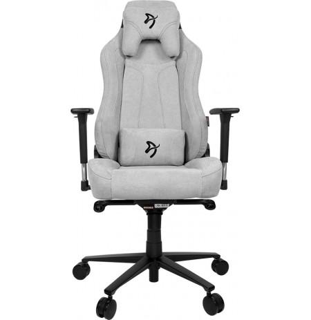 Arozzi VERNAZZA SOFT FABRIC gaiši pelēks ergonomisks krēsls