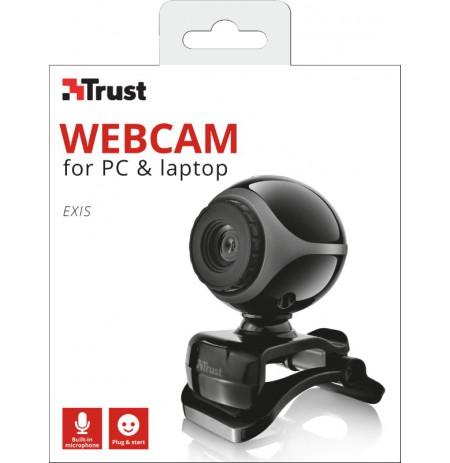 TRUST Exis pārraidīšanas kamera 640p
