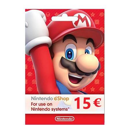 Nintendo eShop Card 15 EUR (EIROPAS VALSTIS)