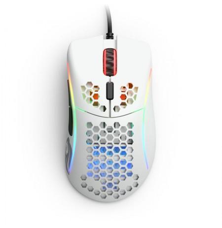 Glorious PC Gaming Race Model D- pele ar vadu (matēta, balta)