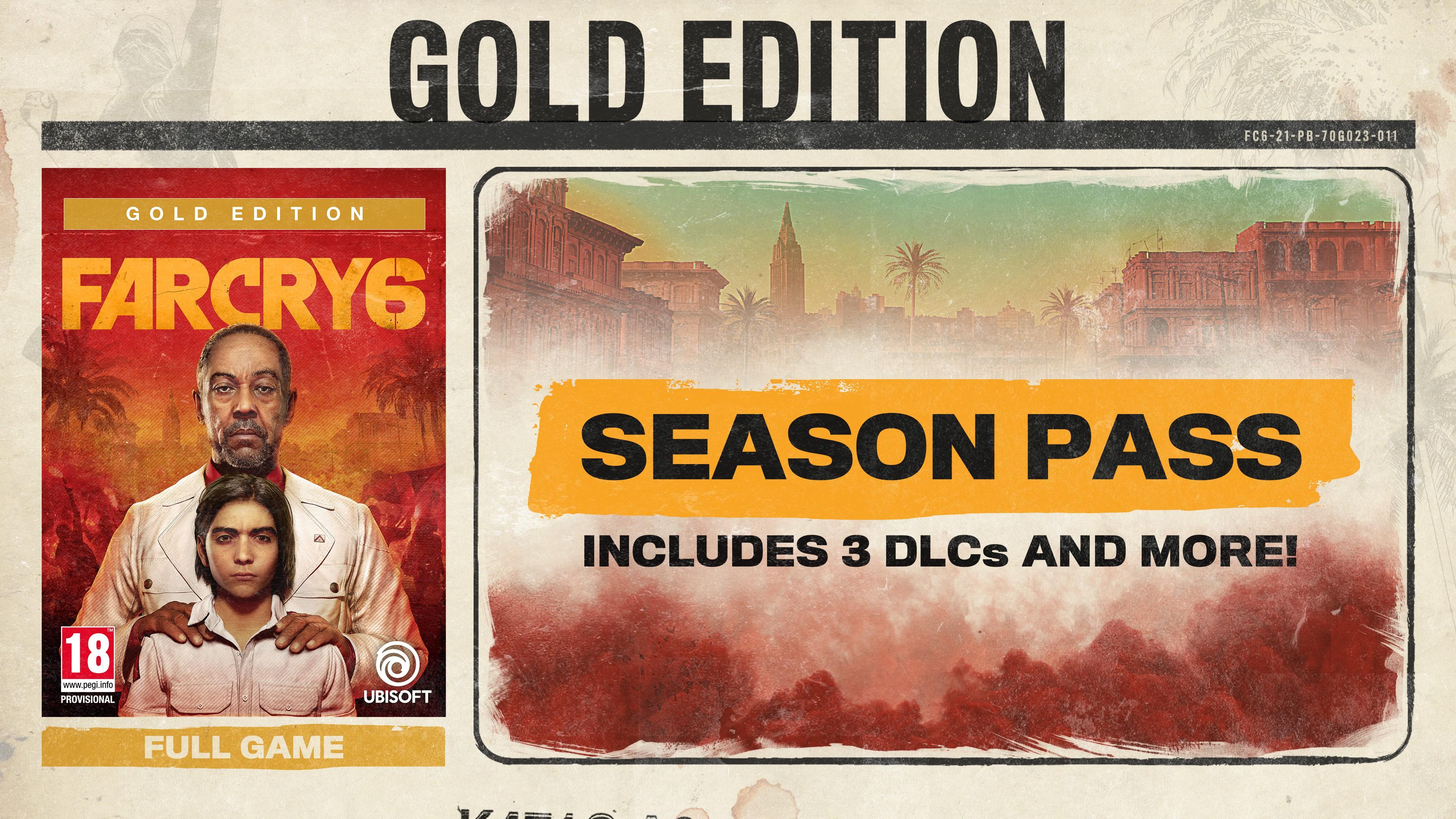 Far Cry 6 Gold Edition + Pre-Order Bonus