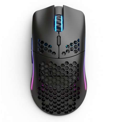 Glorious PC Gaming Race Model O bezvadu pele (matēta, melna) | 19 000 DPI