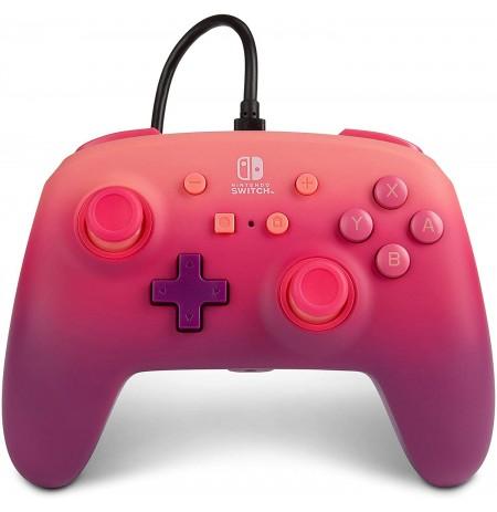 PowerA Fuchsia Fantasy ar vadu kontrolieris paredzēts Nintendo