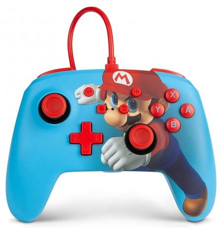 PowerA Super Mario Punch ar vadu kontrolieris paredzēts Nintendo Switch