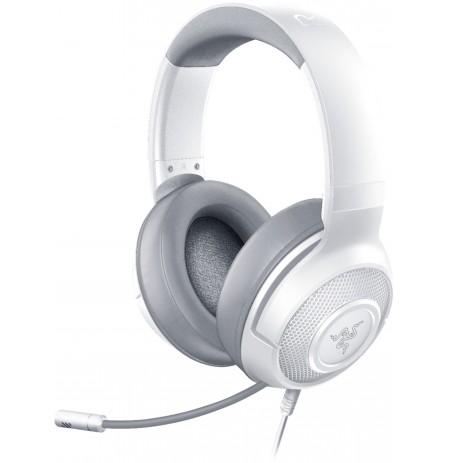 RAZER KRAKEN X MERCURY baltas austiņas ar vadu ar mikrofonu 7.1 | 3.5mm
