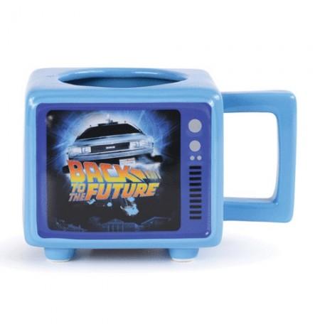 Back to the Future Retro TV krāsu mainoša 3D krūze