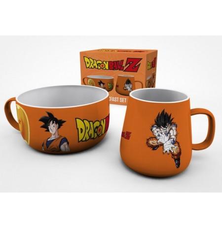 DRAGON BALL Z Goku brokastu krūžu komplekts