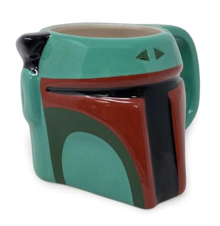 Star Wars Boba Fett 3D krūze 385 ml