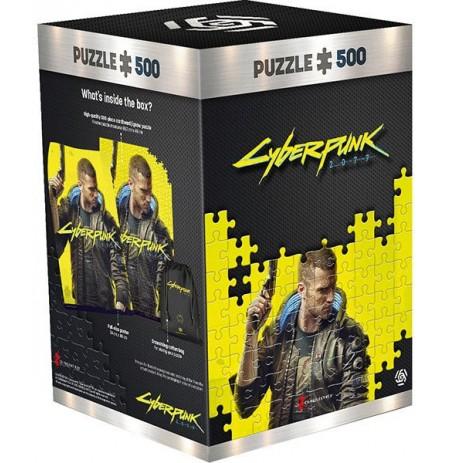Cyberpunk 2077 : Keyart Male V puzle