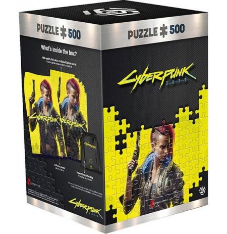 Cyberpunk 2077 : Keyart Female puzle