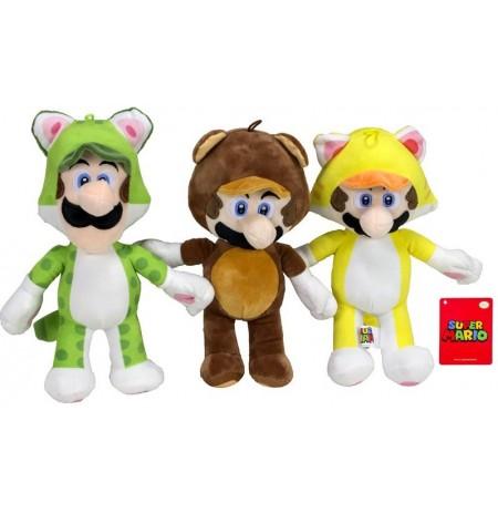 Mario Bross Power Suits plīša rotaļlieta   36 cm