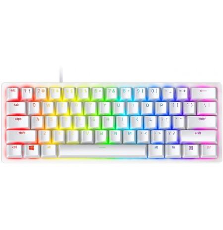 RAZER Huntsman Mini Mercury mehāniskā optiskā klaviatūra | US, Red switch