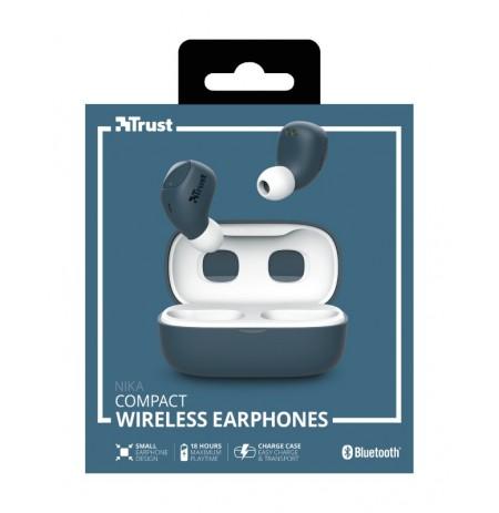 TRUST Nika zils bezvadu austiņas (Bluetooth)